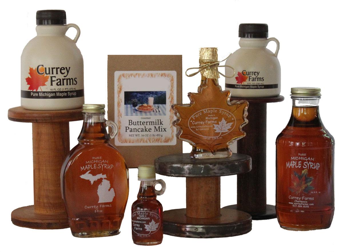 Michigan Maple Syrup | Currey Farms, Charlevoix, MI